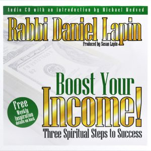 Boost Your Income by Rabbi Daniel Lapin