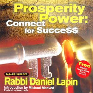 Prosperity Power by Rabbi Daniel Lapin